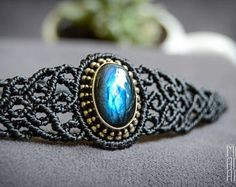 Poppy Jasper macrame bracelet. Jasper bracelet. Natural stone.