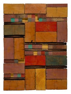 Reclaimed 4x8s,  wall art wood collage