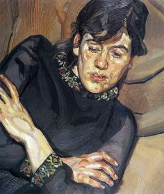 """Lucian Freud """"Bella"""", 1981 (Great Britain, Expressionism, 20th cent.)"""