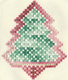 Hardanger Christmas Tree