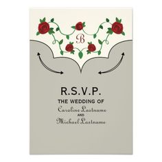 Western Shirt Inspired Wedding RSVP Personalized Invite by Jill's Paperie