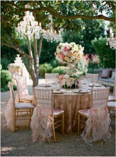 Shabby Chic Outdoor Wedding   ... create an outdoor shabby chic wedding