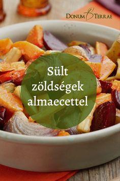 Sült zöldségek Glutenfree, Paleo, Food And Drink, Healthy Recipes, Chicken, Meat, Cooking, Diets, Salads