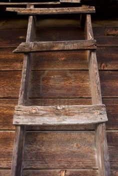 Old Barn Ladder To The Hay Loft