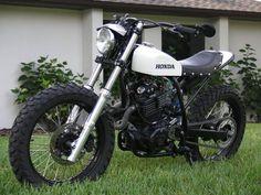club 59 motors cafe racer and.....: honda xl 600 tierry roc hondina nouvele cousine