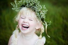 babies breath halo for flower girl?