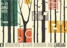 vintage Slovenian poster