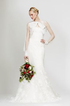 Lace and bows: http://www.stylemepretty.com/2015/04/22/honor-x-stone-fox-bride-spring-2016/