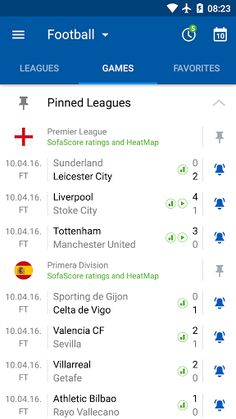 SofaScore Live Score v5.45.1 [Unlocked]   SofaScore Live Score v5.45.1 [Unlocked] Requirements:4.2 and up Overview:SofaScore is sports live score app with widget that gives you live coverage (results fixtures standings video etc.) for ALL LEAGUES and competitions in 17 sports.  SofaScore is sports live score app with widget that gives you live coverage (results fixtures standings video etc.) for ALL LEAGUES and competitions in 17 sports:  Football (Soccer) Basketball Ice Hockey Tennis…
