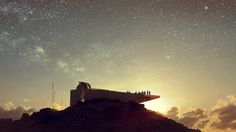 Kyriakos Tsolakis Architects has won planning permission for an astronomical research centre on top of a Cyprus mountain, which will provide NASA with information about celestial phenomena.