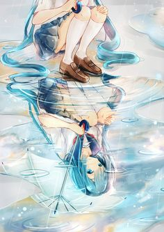 I love anime my favorite anime character is Hatsune Miku