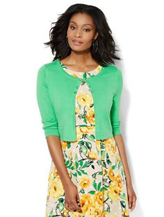 $30 Shop 7th Avenue Design Studio - Dress Cardigan . Find your perfect size online at the best price at New York & Company.