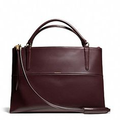 THE LARGE BOROUGH BAG IN POLISHED CALFSKIN