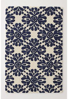 Just put this rug in my den-a Craigslist find! contemporary rugs by Anthropologie