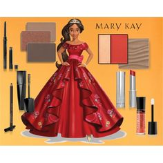Elena Mary Kay Color by taylormarie213 on Polyvore featuring beleza and Mary Kay