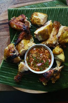 Thai Grilled Chicken. Click on the photo to view the ingredients. Visit purecipes.com to discover more popular recipes. #GrilledChicken #Chicken, #Thai