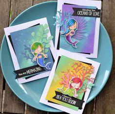 Cardmaking - Mermazing Stamp Set by My Favorite Things