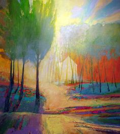 Learn from this, colors in nature don't always have to bee what you think you see - wonderful!  - art by Mark Gould