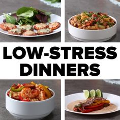 Low-Stress Family Dinners #parenting #dinner #health