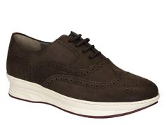 Salvatore Ferragamo brown Suede leather oxfords sneakers - Italian Boutique €266