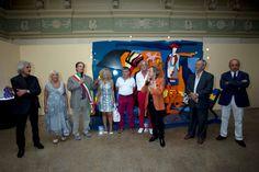 Inaugurazione Mostra Antologica 2014 - Acqui Terme - dedicata ad Ugo Nespolo.  Catalogo www.edizioni.lizea.com