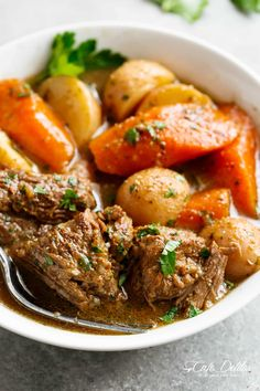 Slow Cooked Balsamic Pot Roast is perfect for an easy weekday or weekend dinner, WITH THREE DIFFERENT COOKING METHODS! Minimal work and maximum taste!