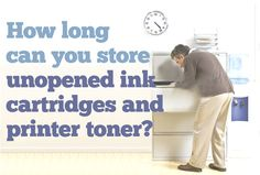 how to reset an ink cartridge and not waste printer ink  How long can you store unopened ink cartridges and printer toner?