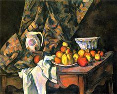 """""""Nature morte avec pommes et pêches (1905) - Paul Cezanne"""