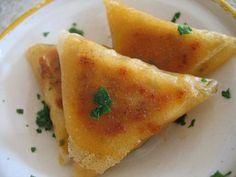 Bricks au poulet et citron confit - Chez Requia, Cuisine et confidences ...