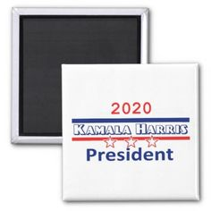 Kamala Harris President 2020 Magnet - attorney lawyer business personalize unique counsel