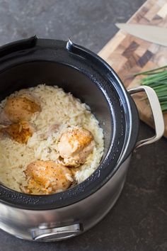 Creamy Herbed Chicken and Rice