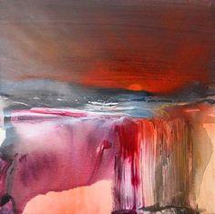 """Annette Schmucker, """"New Dawn I"""" Mit einem Klick auf """"Als Kunstkarte versenden"""" versenden Sie kostenlos dieses Werk Ihren Freunden und Bekannten."""
