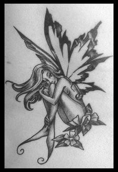 Futuristic fairy tattoos are also a result of the lines between science-fiction and fantasy beginning to blur as more of the ideas from the past are being recreated in fantastic tattoo designs. Description from best-celebritytattoo.blogspot.com. I searched for this on bing.com/images