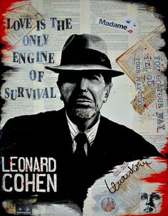 BASM – Engine of survival [ Leonard Cohen ] Love Only, My Love, Leonard Cohen, Book Pages, Engineering, Survival, Beautiful Things, Books, Men