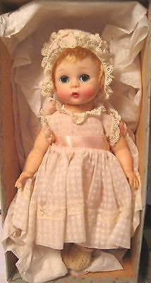 "Madame Alexander Little Genius Doll 8"" HP SE All Orig w Box + Xtra Panties 1950"