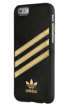 Adidas Moulded Case for Apple iPhone 6 - Black/Gold: Electronics