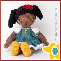 """Capuchinha! Meu xodó! #amigurumi #crochet #presente #crochetdoll #boneca #bonecadecrochet #decoração #designercrochet #arteemcrochet #mimoteca…"""