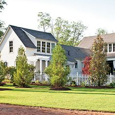House Rear | SouthernLiving.com | #SLIdeaHouse....I love this!!!