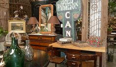 List of places in Los Angeles to buy salvaged furniture pieces. If you're thinking of making a headboard out of an old door you can find a good place to buy one here! So happy I found this!