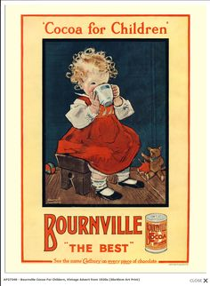 Cadbury Bourneville Cocoa for children