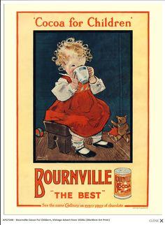Cadbury Bourneville Cocoa for children