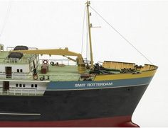 Image of Smit Rotterdam Wooden Boat Kit