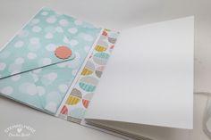 Stampin Up - Stempelherz - Minialbum - Minibook - Sale-a-bration - Designerpapier Die schönste Zeit - Designerpapier Zauberhaft - Back to Basics Alphabet - Drehstempel Alphabet - Envelope Punchboard - Minialbum Unvergessliche Momente 05