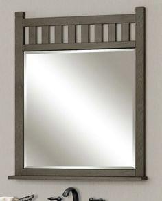 Blake collection vanity mirror from Sagehill Designs