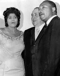 Mahalia Jackson & Martin Luther King Jr.