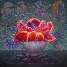 Portland based artist Eric Wert, first featured in Hi-Fructose Vol. 32, is known for his larger than life and visually intense still life paintings of plants and food. Though his style is hyper-rea…