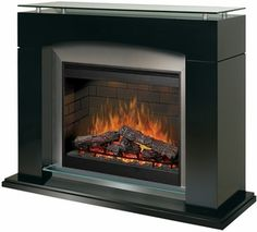 Dimplex Laguna Electric Fireplace with Gloss Black