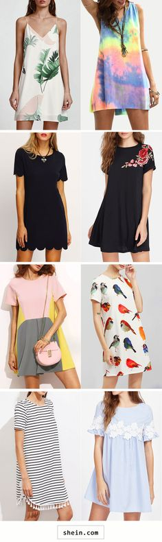 Short dresses start at $10!