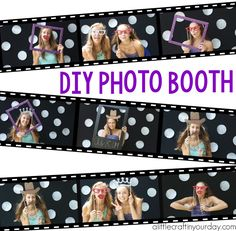 Make a DIY Photo Both for your next party