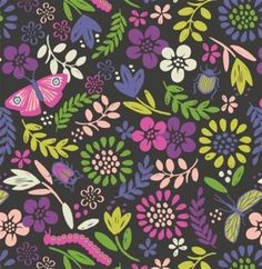 Mary Jo's Cloth Store - Fabrics - Our Friends in the Garden - A82 1 Mini (Maywood)